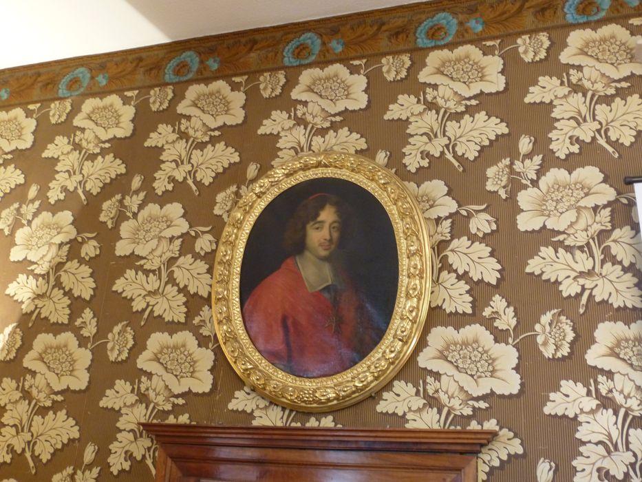 tableau et son cadre : Portrait d'évêque