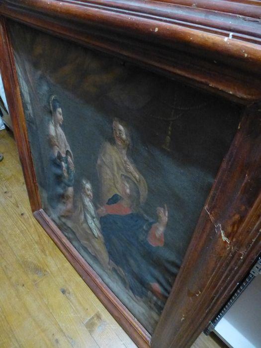 tableau : Christ, Marthe, Madeleine, Lazare