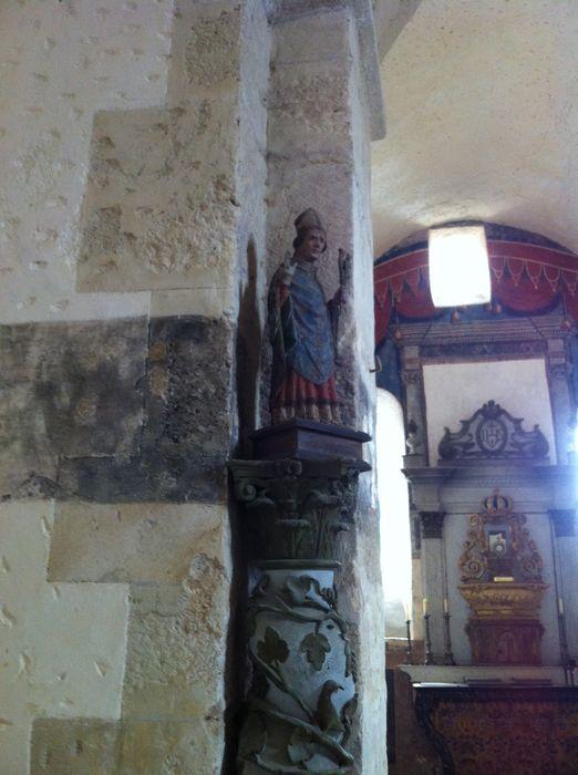 statue : Saint Evêque avec chasuble
