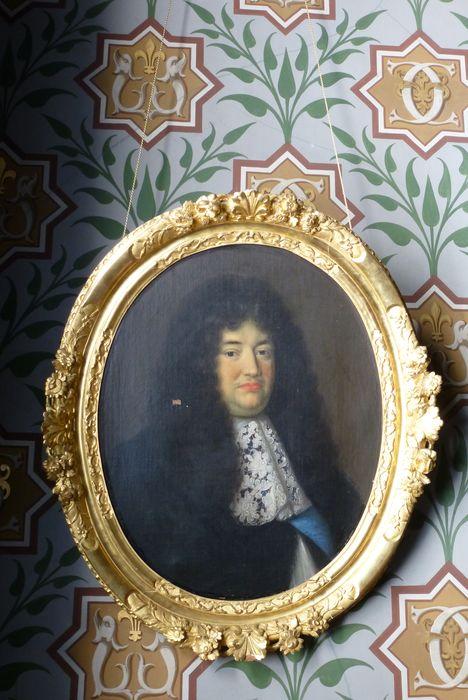 Tableau, cadre : Portrait de Louvois
