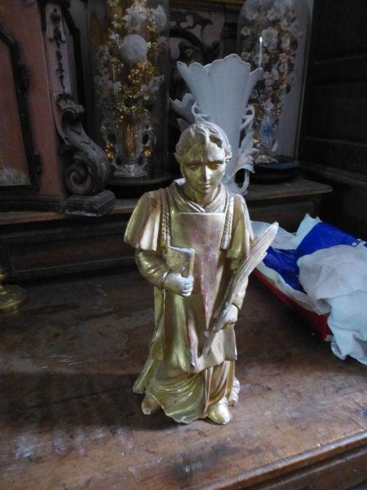 statuette : Saint Etienne en diacre
