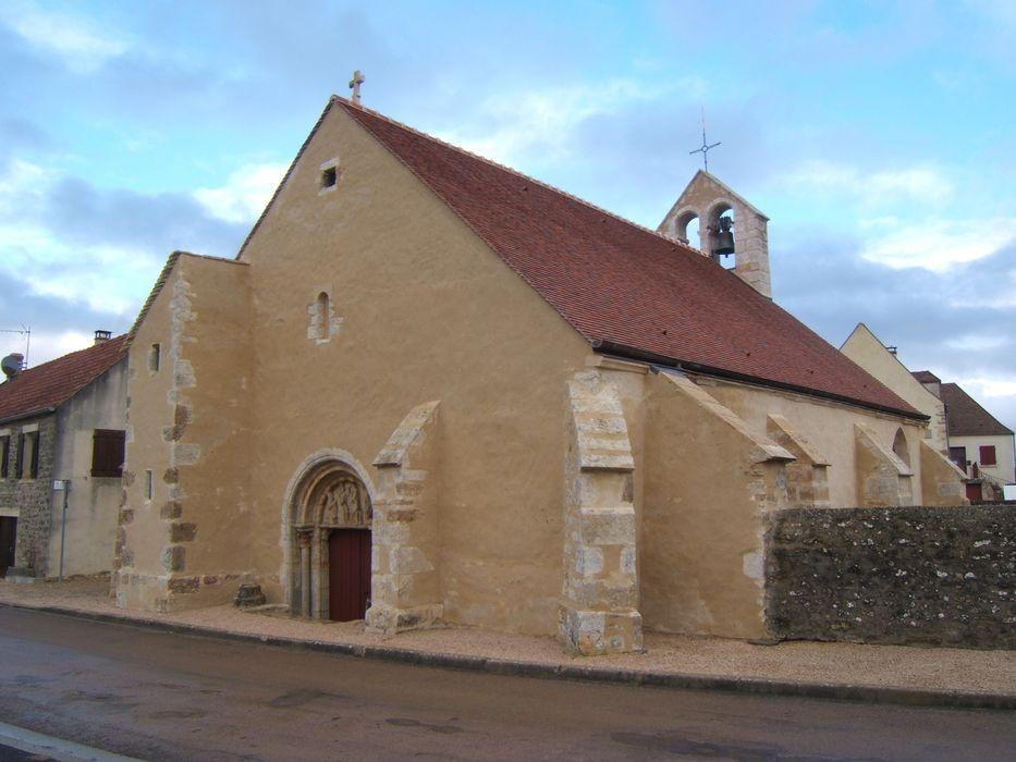 Eglise Saint-Gengoult: Façade occidentale, vue générale