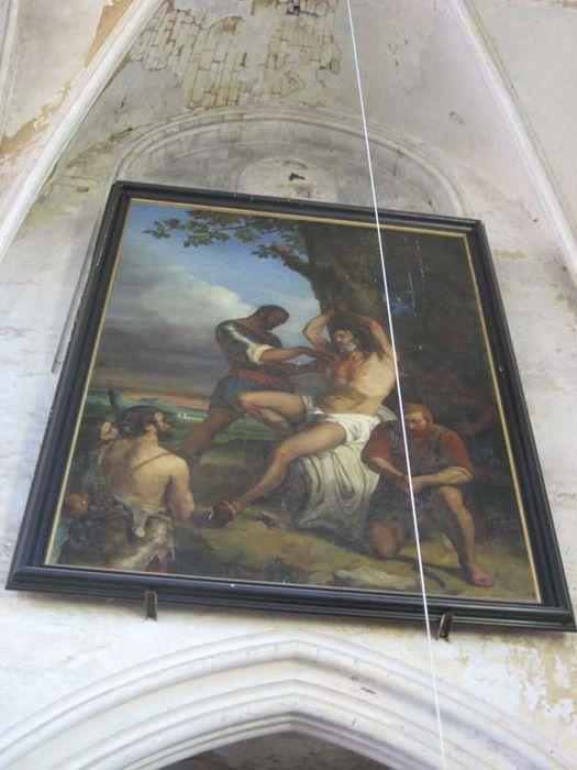 Tableau : Martyre de saint Barthélémy
