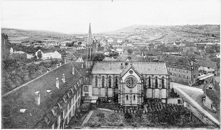 Église Sainte-Trinité, Saint-Georges, collège de Jésuites
