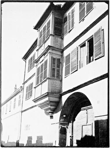 maison de chanoine, actuelle maison