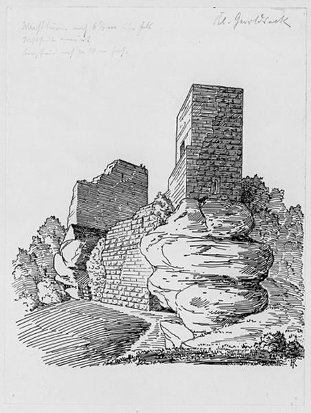 Château-fort de Petit-Geroldseck