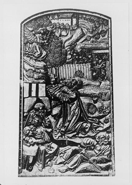 Relief : Agonie du Christ