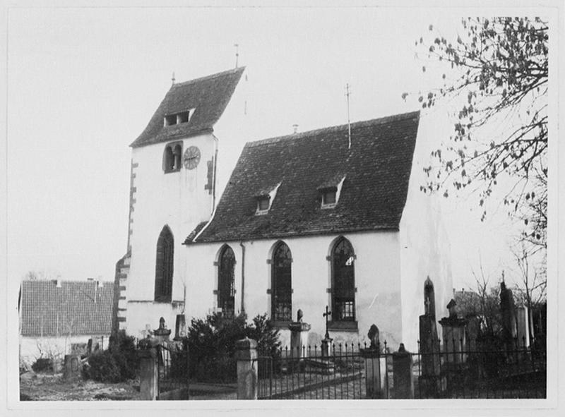 église paroissiale ; église protestante Saint-Brice