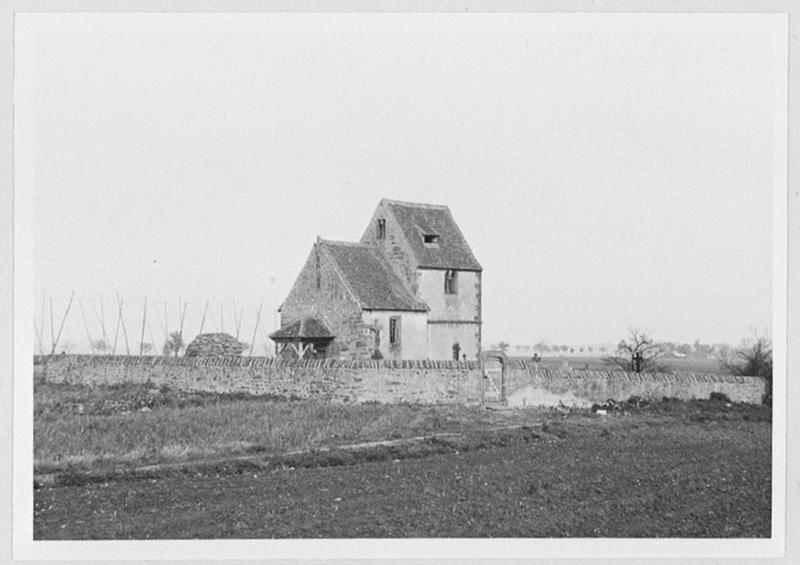 église paroissiale Saint-Alban, actuellement chapelle de cimetière de Betbur