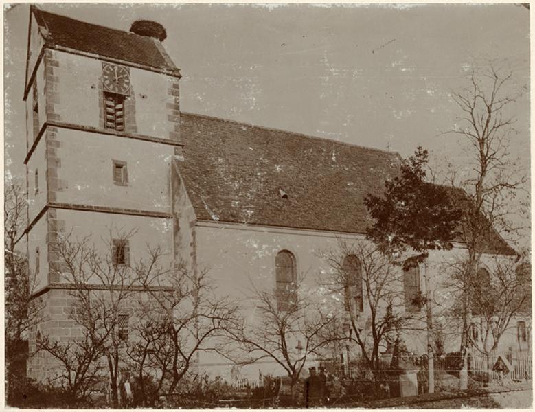 église catholique Saint-Jacques-le-majeur ; actuelle église catholique Saint-Jacques-le-Majeur