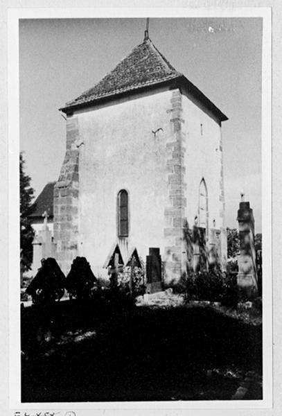 Chapelle Sainte-Marie, ancienne église paroissiale Saint-Etienne