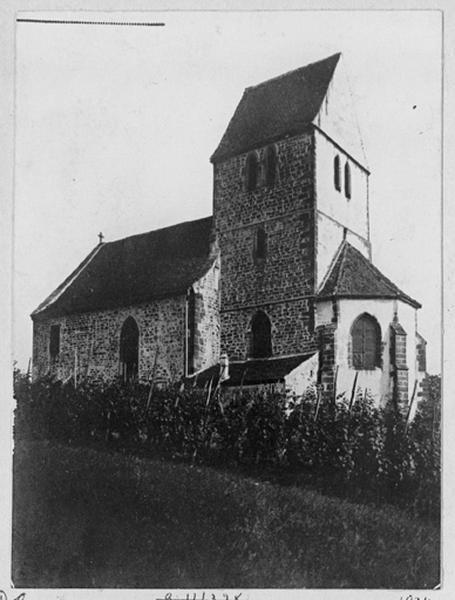 église de Sindelsberg ; couvent de bénédictines Saint-Blaise, actuellement chapelle de pèlerinage