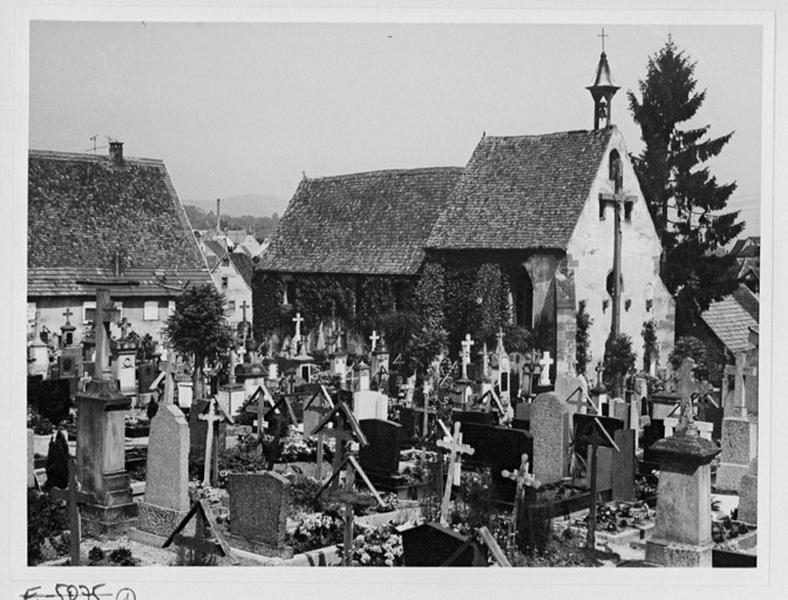 Chapelle Saint-Denis, actuellement chapelle de cimetière
