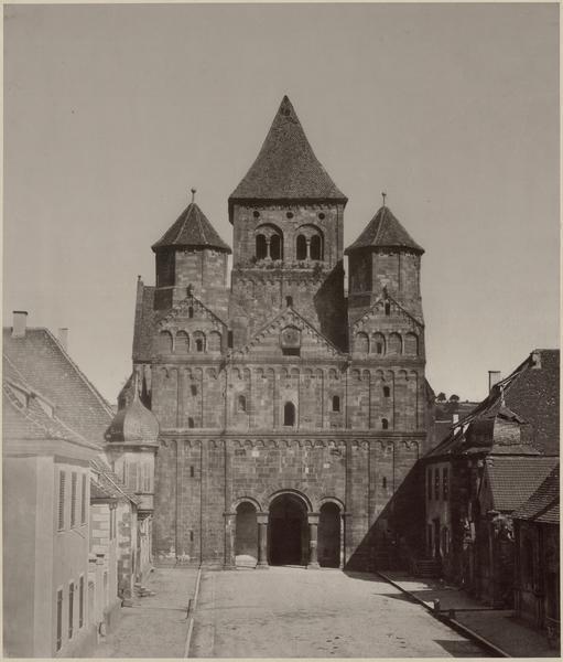 Église abbatiale Saint-Etienne, ancienne abbaye bénédictine