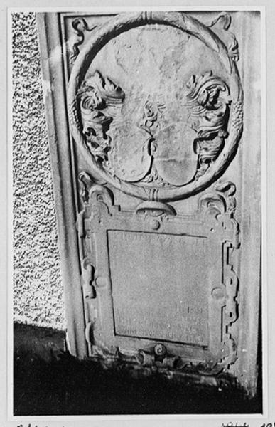 dalle funéraire de Frédéric de Schauenbourg et Ursule Joham de Mundolsheim