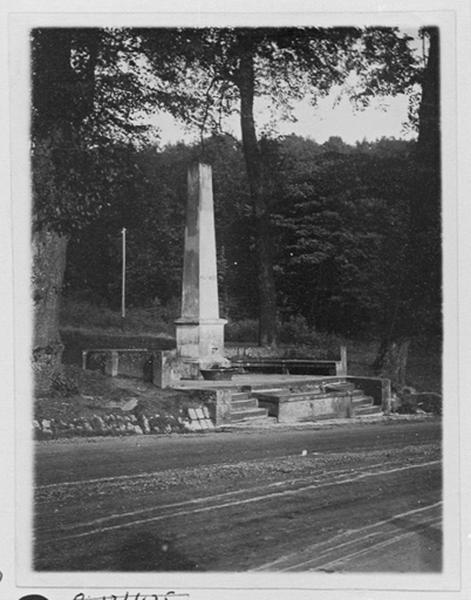 fontaine monumentale au col de Saverne