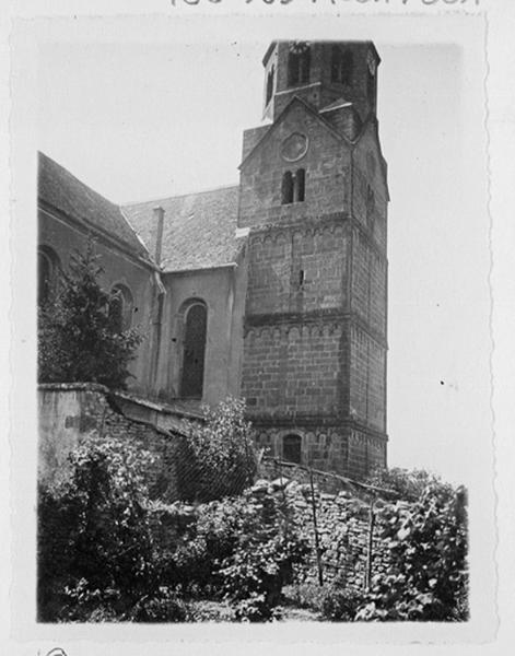 église paroissiale Saint-Cyriaque, actuelle église catholique Saint-Cyriaque