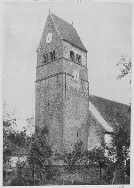 église paroissiale Saint-Jean-Baptiste, actuelle église catholique Saint-Jean-Baptiste