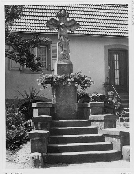 croix de chemin datée 1621 dite S' Kritz