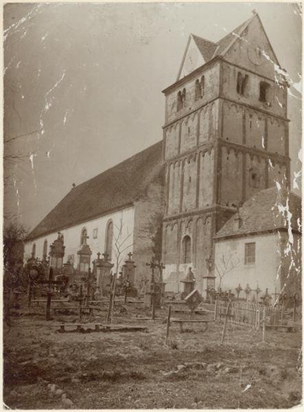 église paroissiale Saint-Maurice, actuelle église catholique