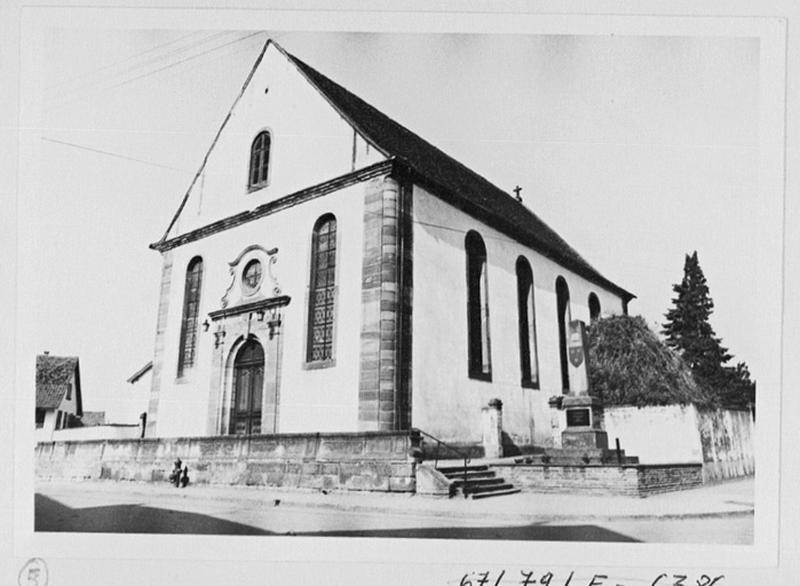 église paroissiale Saint-Nicolas, actuelle église catholique