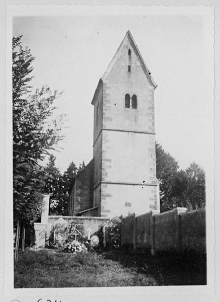 église paroissiale Saint- Pierre, actuelle église protestante