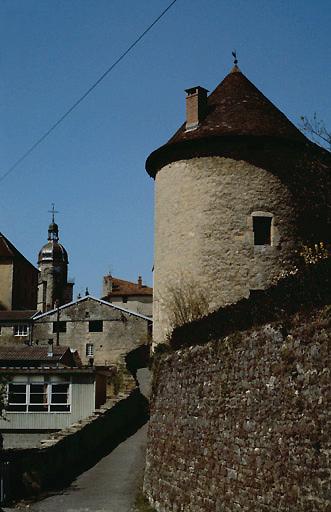 fortification d'agglomération, tour Saint-Guillaume