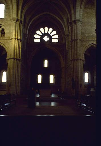 église : abbaye cistercienne d'Acey