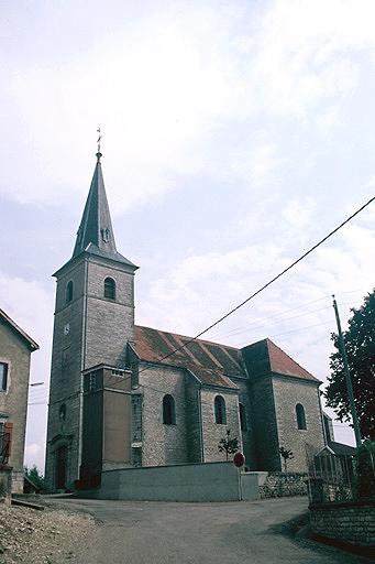Eglise à l'exception de la sacristie reconstruite et du local de chaufferie