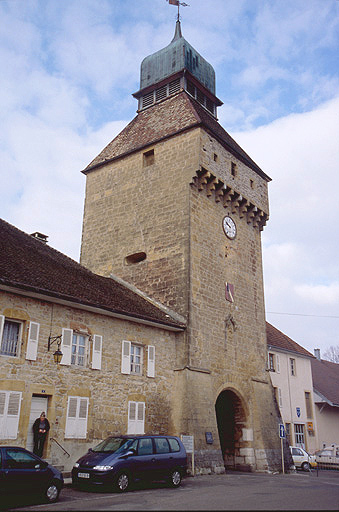 porte de ville dite porte de l'Horloge