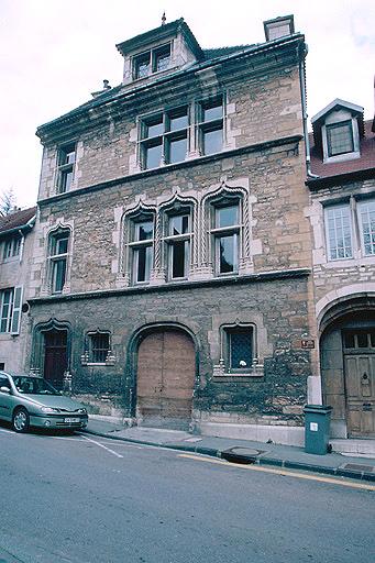 Maison du 15e siècle, dite Hôtel Thomassin