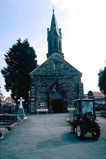 église de Brasse, actuellement chapelle du cimetière