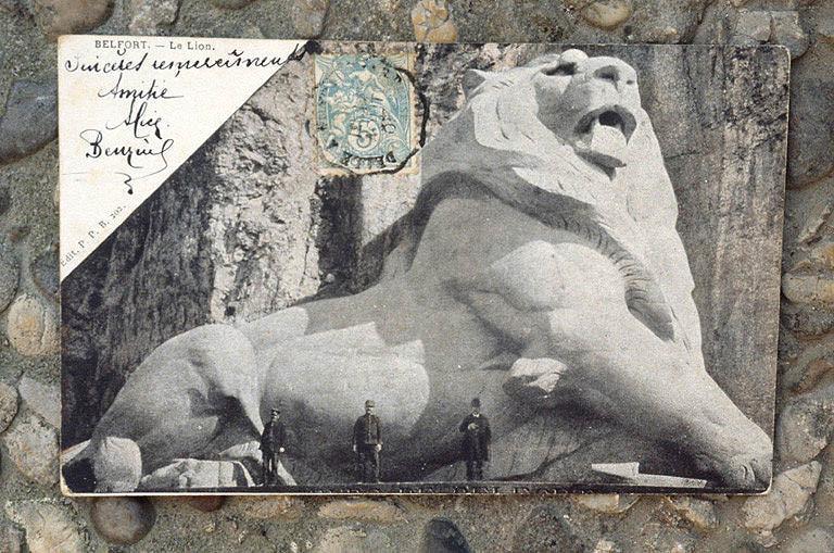 monument dit le Lion