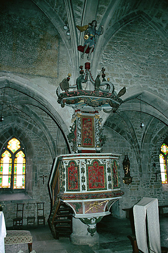 Eglise du Bizot (à l'exclusion du clocher moderne)