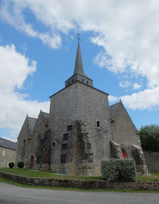 Chapelle Saint-Lubin: Vue générale depuis le nord-ouest