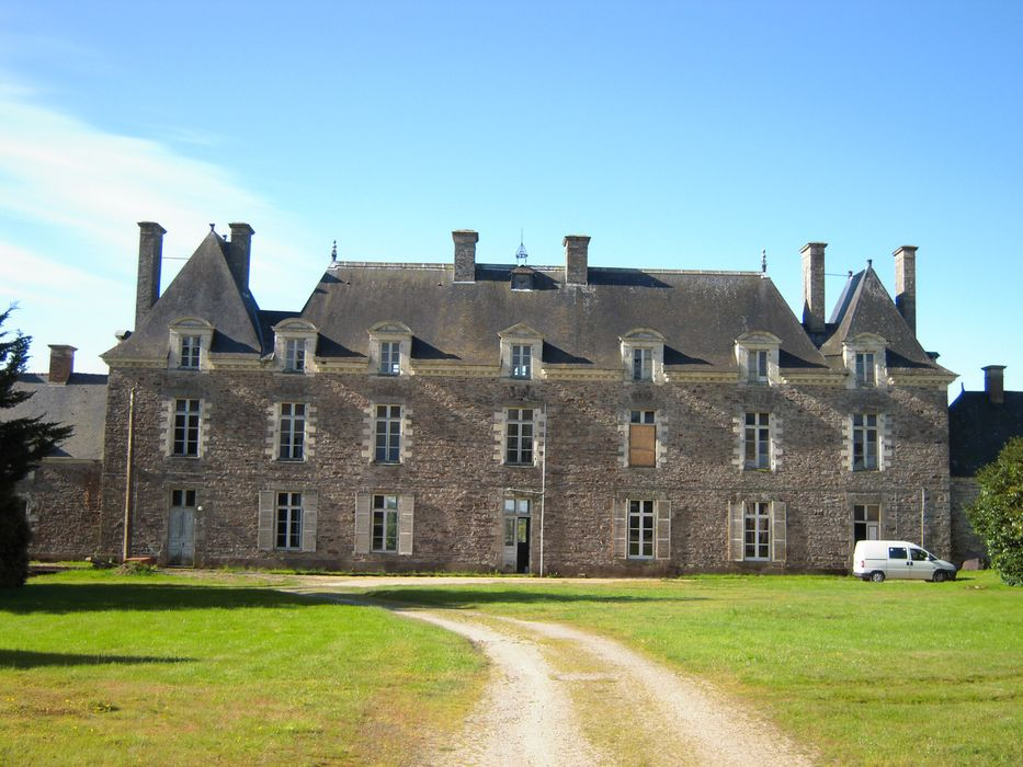 Château, ensemble nord, vue générale