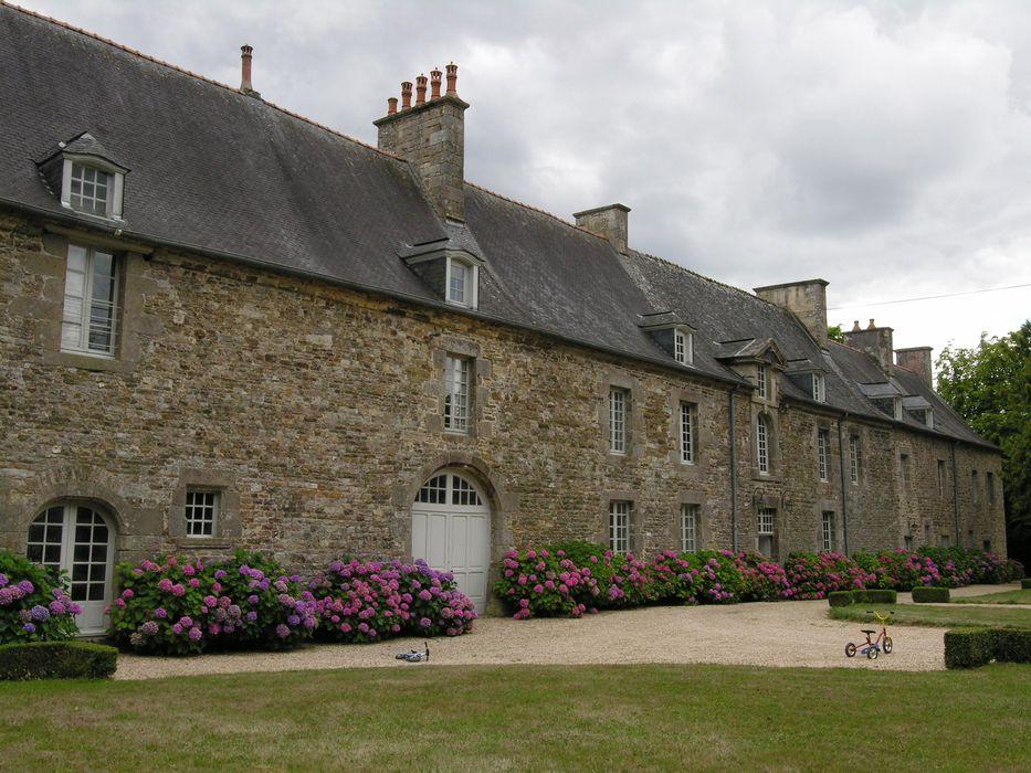 Château du Bordage : Logis, façade nord