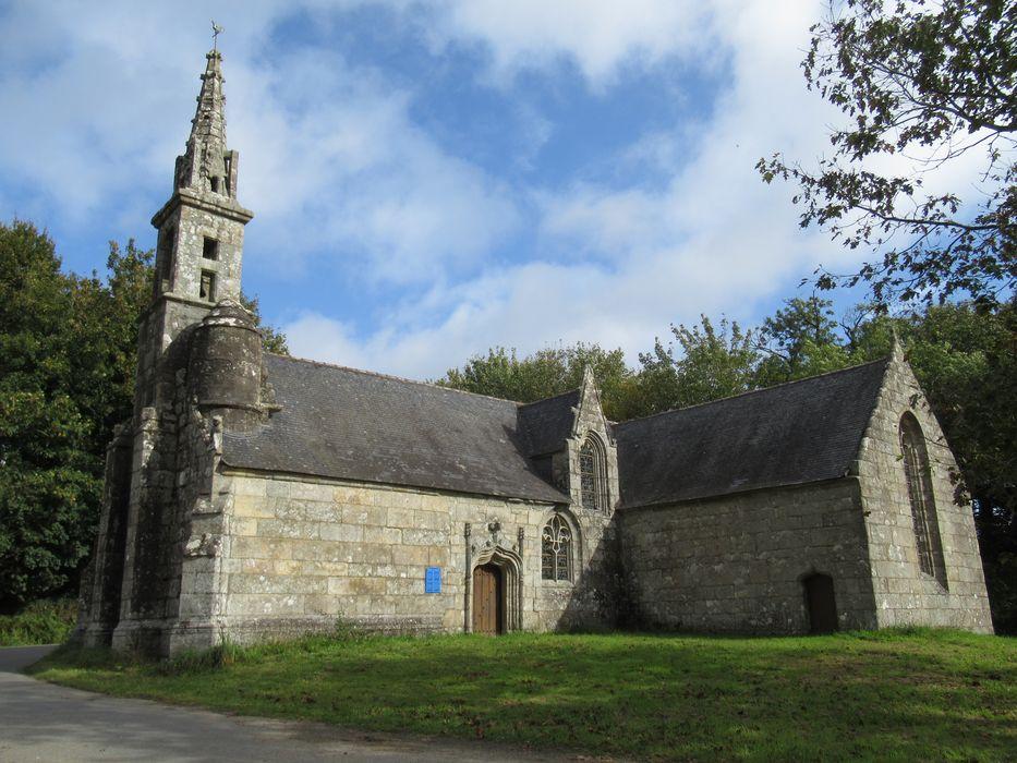 Ruines de la chapelle de Lannégant