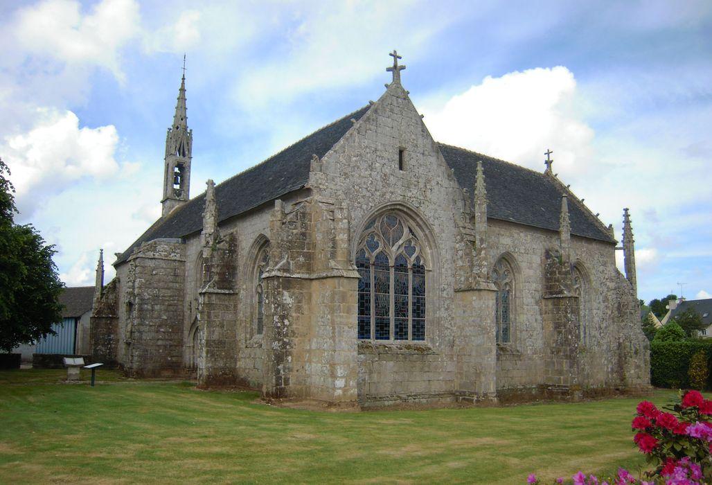 Chapelle Notre-Dame de Quilinen: Vue générale sud-est