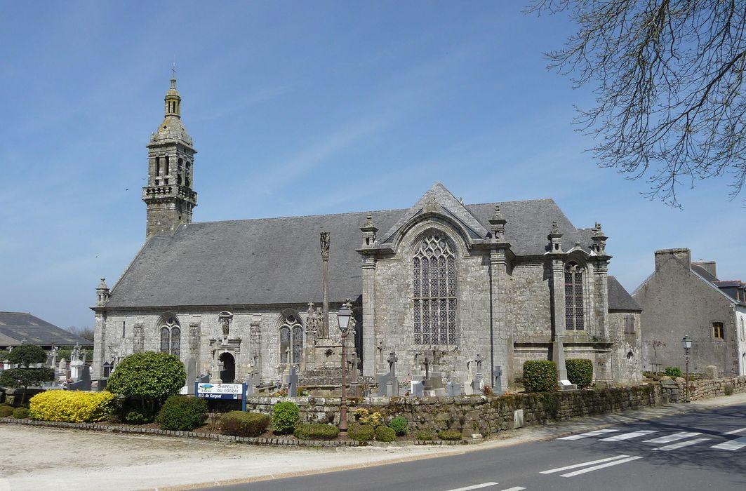 Chapelle Notre-Dame de Kergoat: Vue générale sud-est