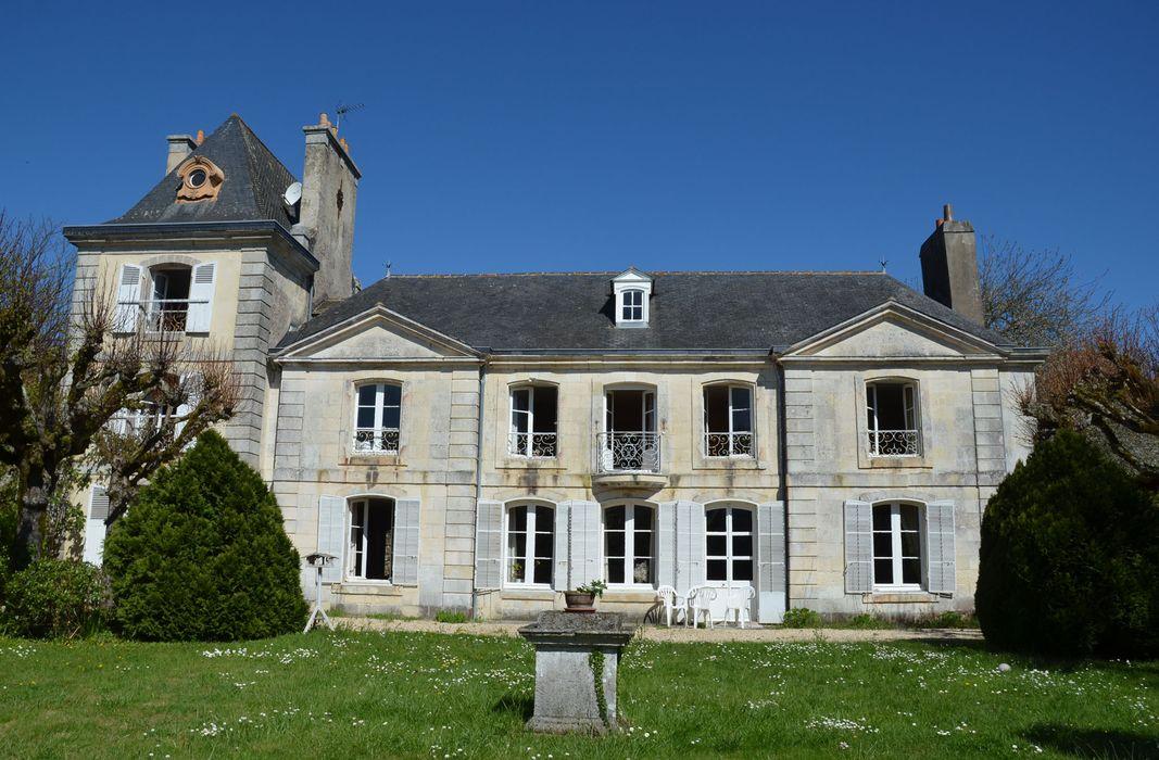 château de Bélon: Façade sud