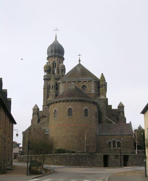 Eglise Saint-Maximilien Kolbe (anciennement Saint-Pierre): Vue générale nord-est, chevet