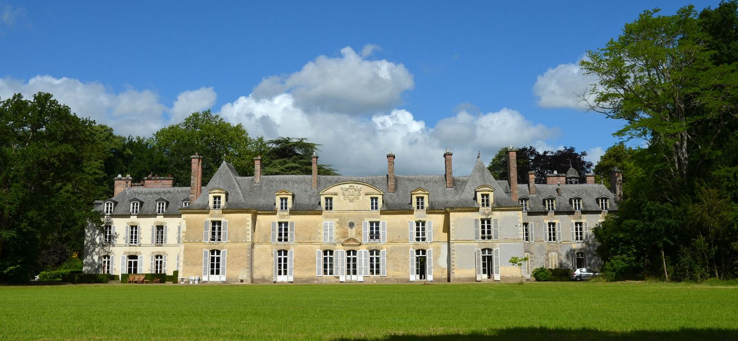 Château de Blossac : Vue générale sud-est