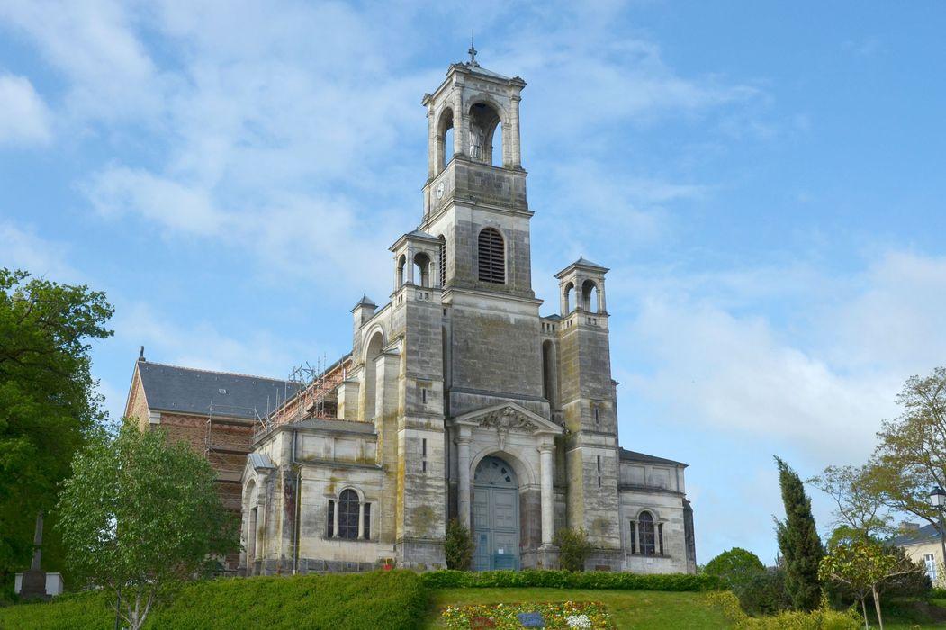 Eglise Saint-Louis-Marie Grignion de Montfort : Vue générale façade antérieure (nord)