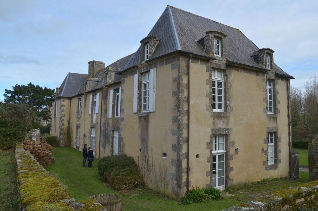 Malouinière de la Motte-Jean : Vue générale sud-ouest