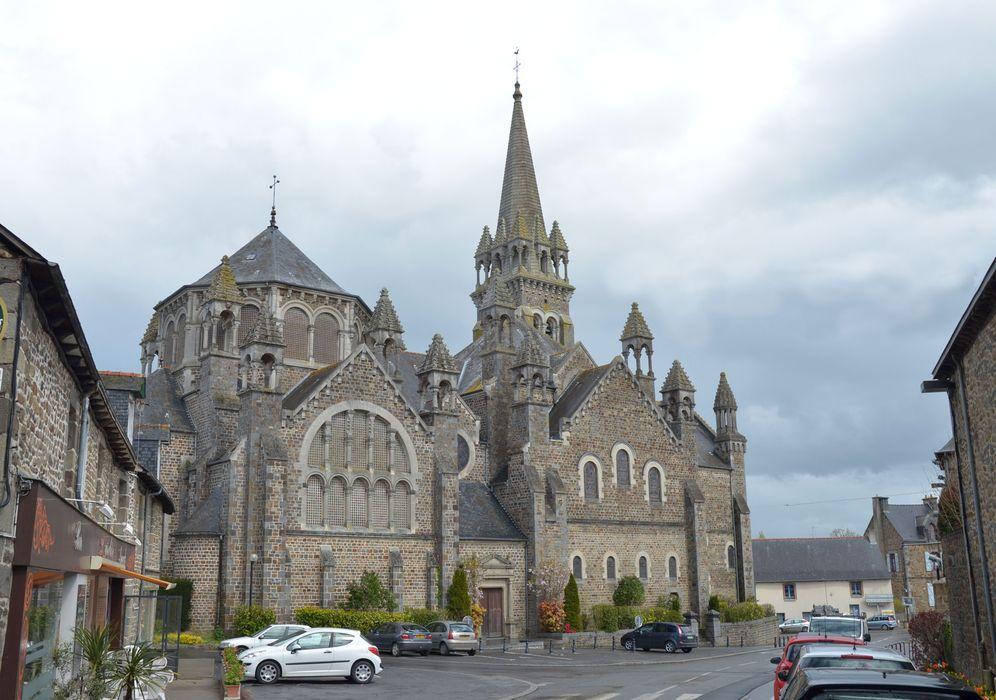 Eglise de la Sainte-Trinité-Notre-Dame : Vue générale ouest