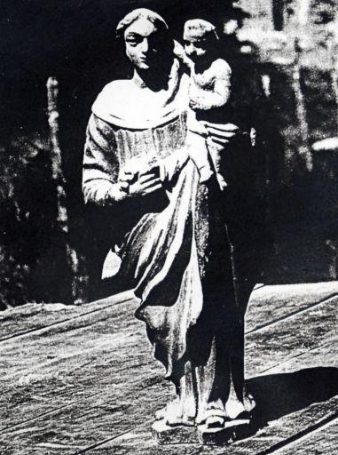 Statue (statuette) : Vierge à l'Enfant