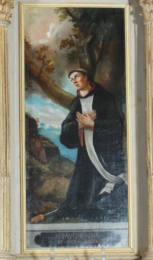 2 tableaux : saint Gaucher, saint Faucher (retable)