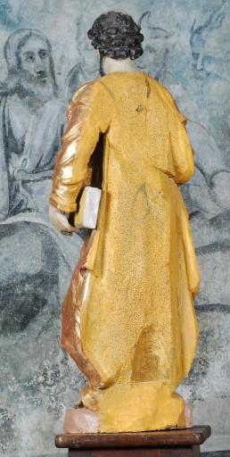 Paire de statues : saint Pierre et saint Paul