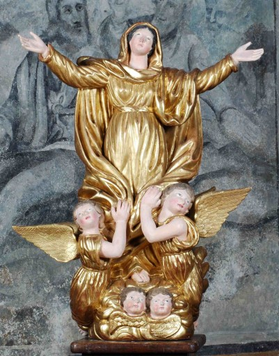 Statue : Vierge de l'Assomption